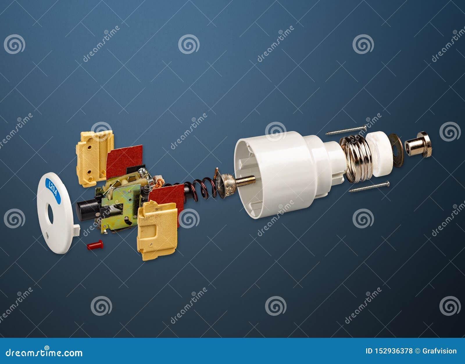 Le classique automatisent le fusible électrique