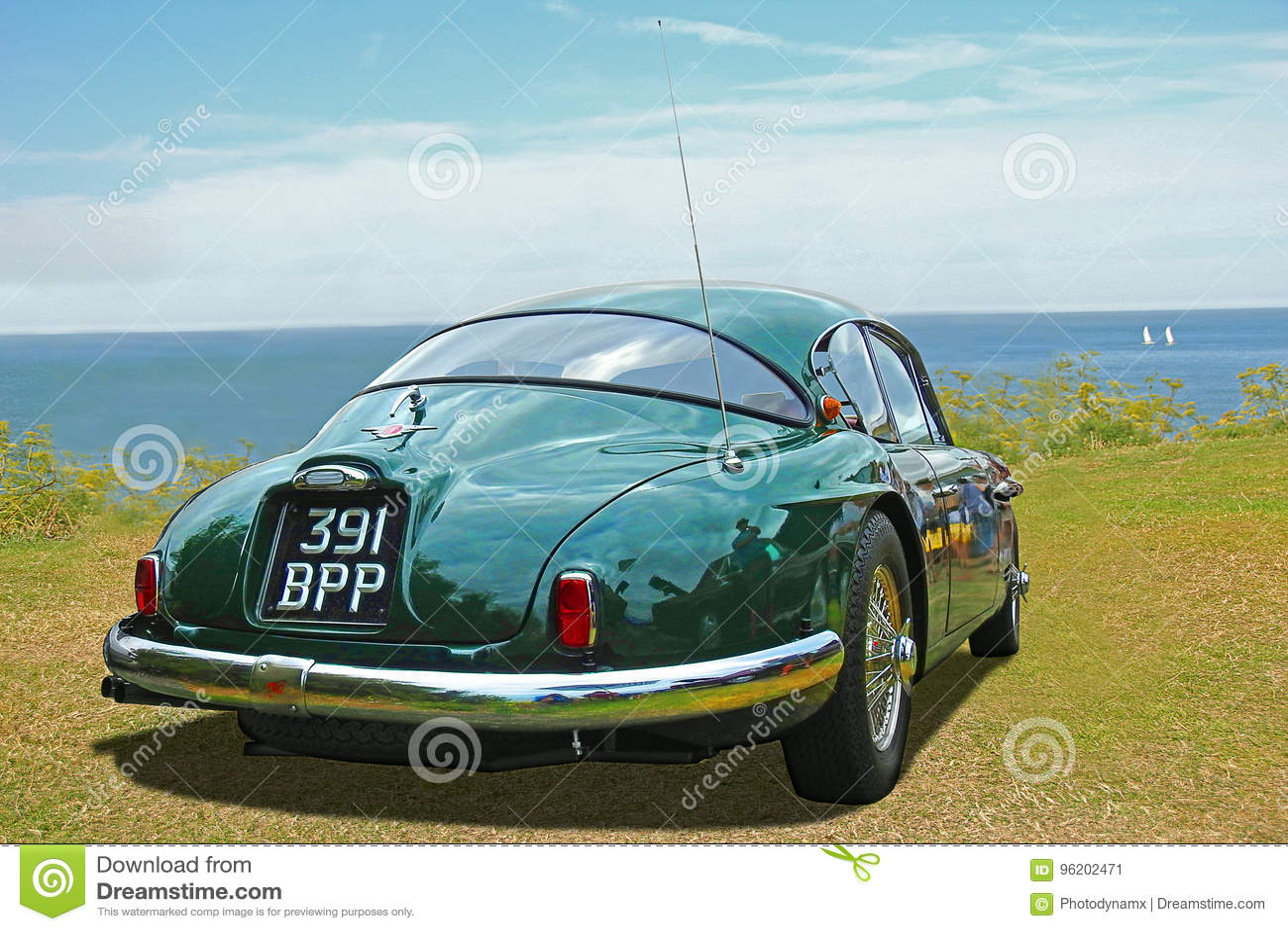 Le classique de vintage jensen l automobile 541