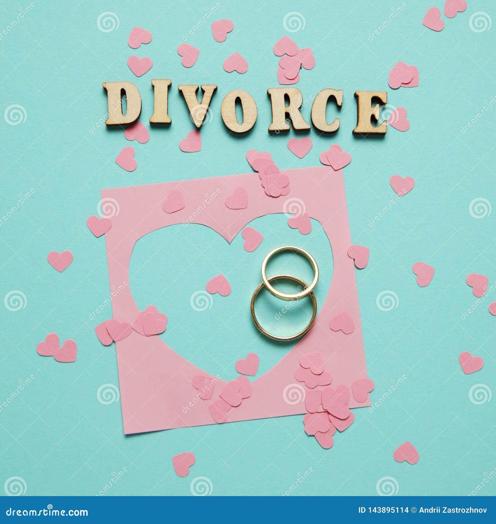Le coeur bris? et deux anneaux d or Divorce civil de famille, conflit