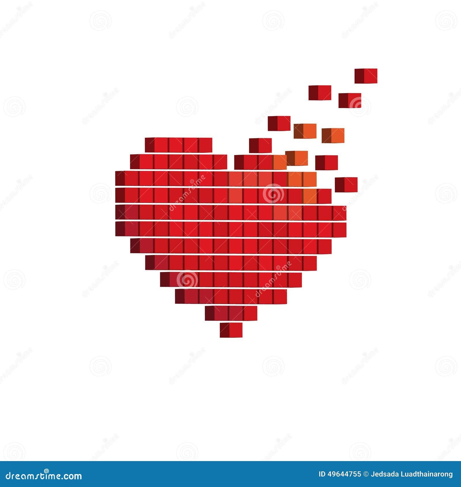 Pixel Art Lettre D Amour