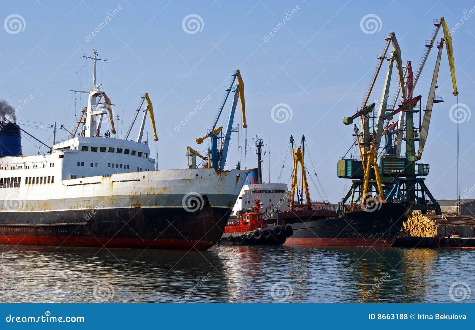 Le commerce de mer gauche