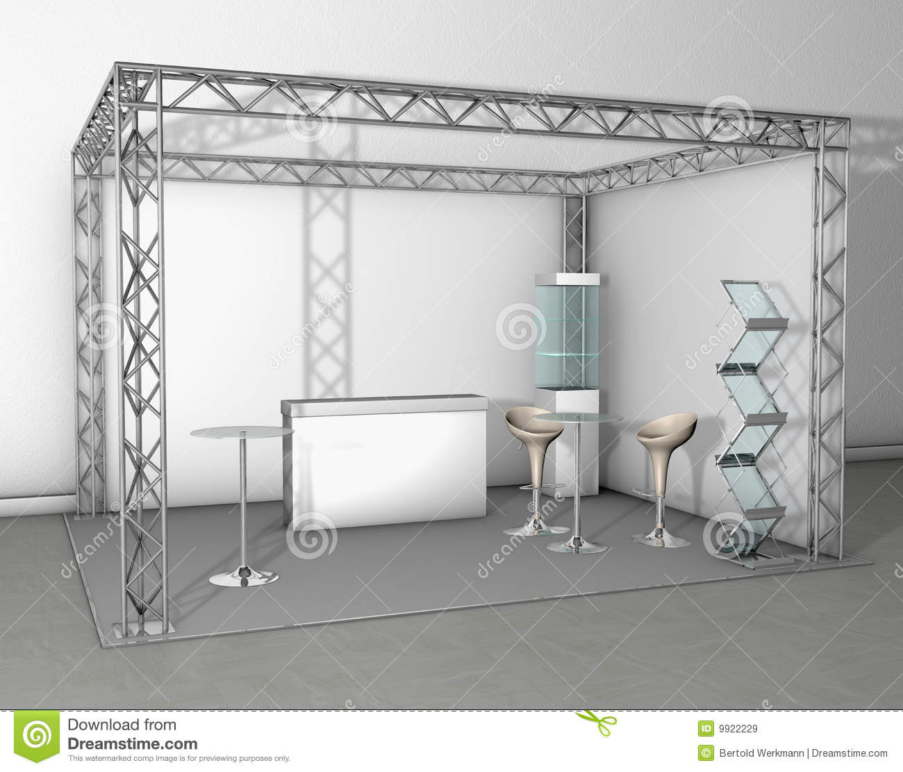 Le commerce de stand d 39 exposition images libres de droits for Exemple de stand