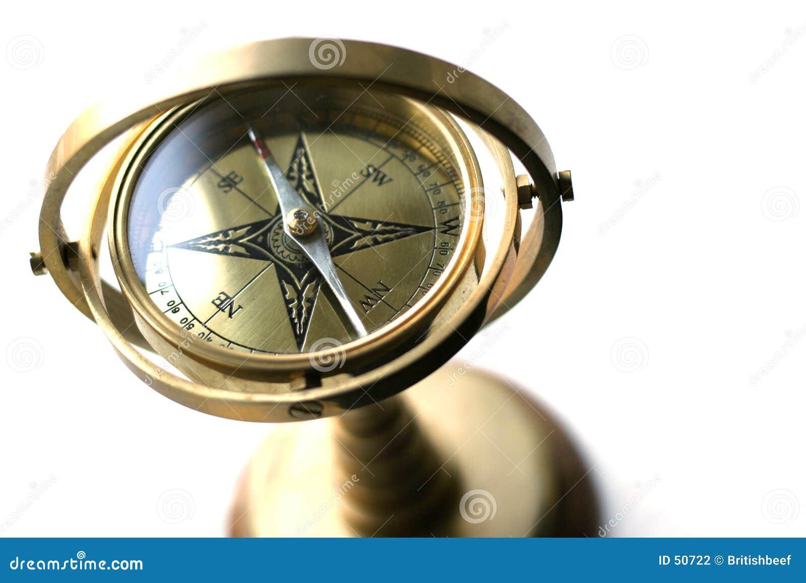 Download Le compas du bateau photo stock. Image du expédition, exploration - 50722