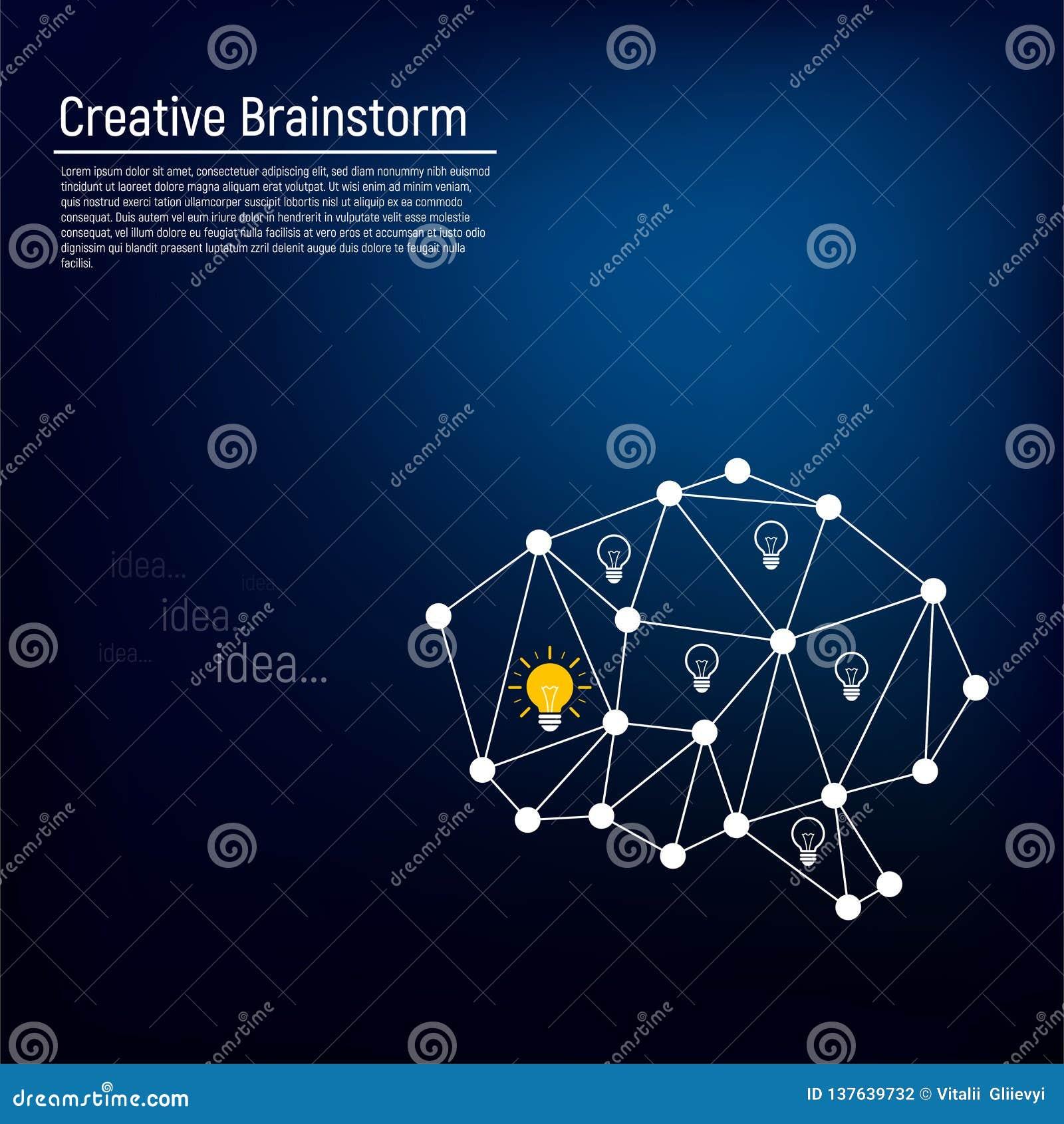 Le concept d un esprit humain actif avec l émergence des idées dans elle Symbole de la sagesse