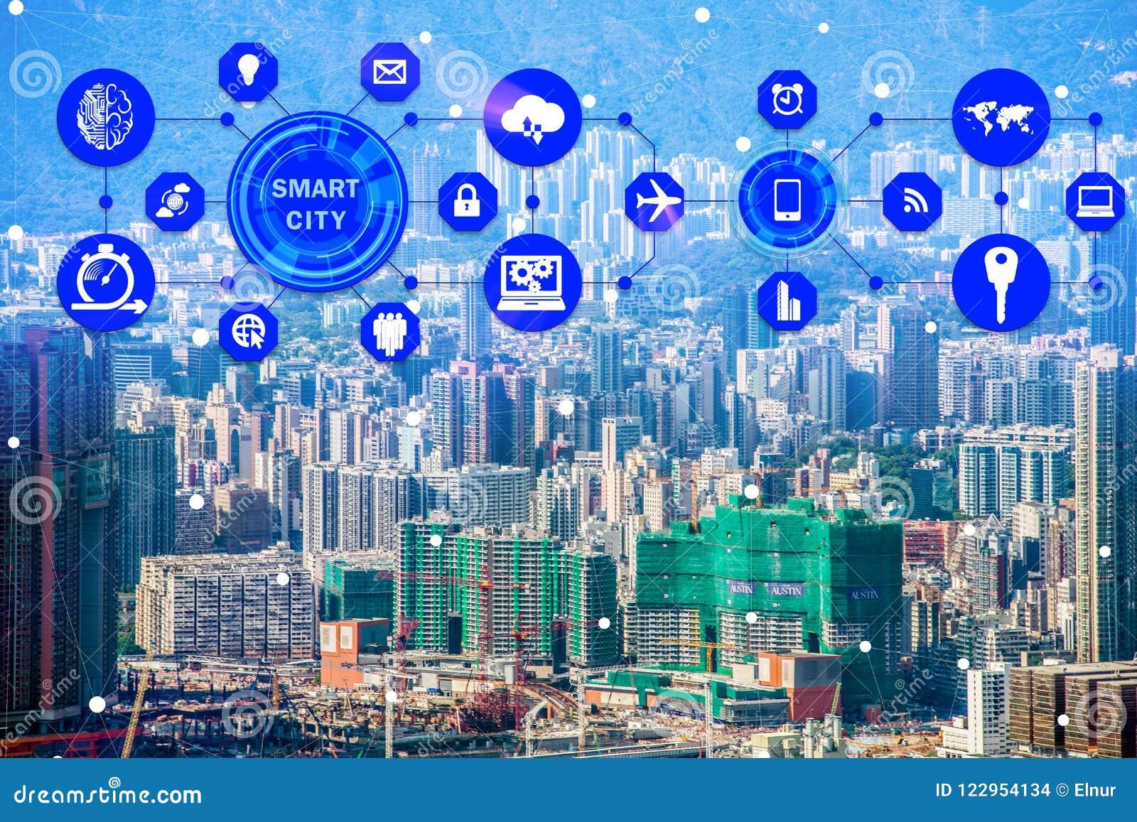 Le concept de la ville et de l Internet futés des choses