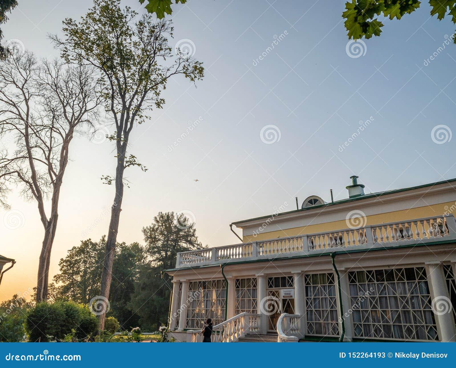 Le costruzioni principali della proprietà Precedente residenza di Vladimir Ilyich Lenin