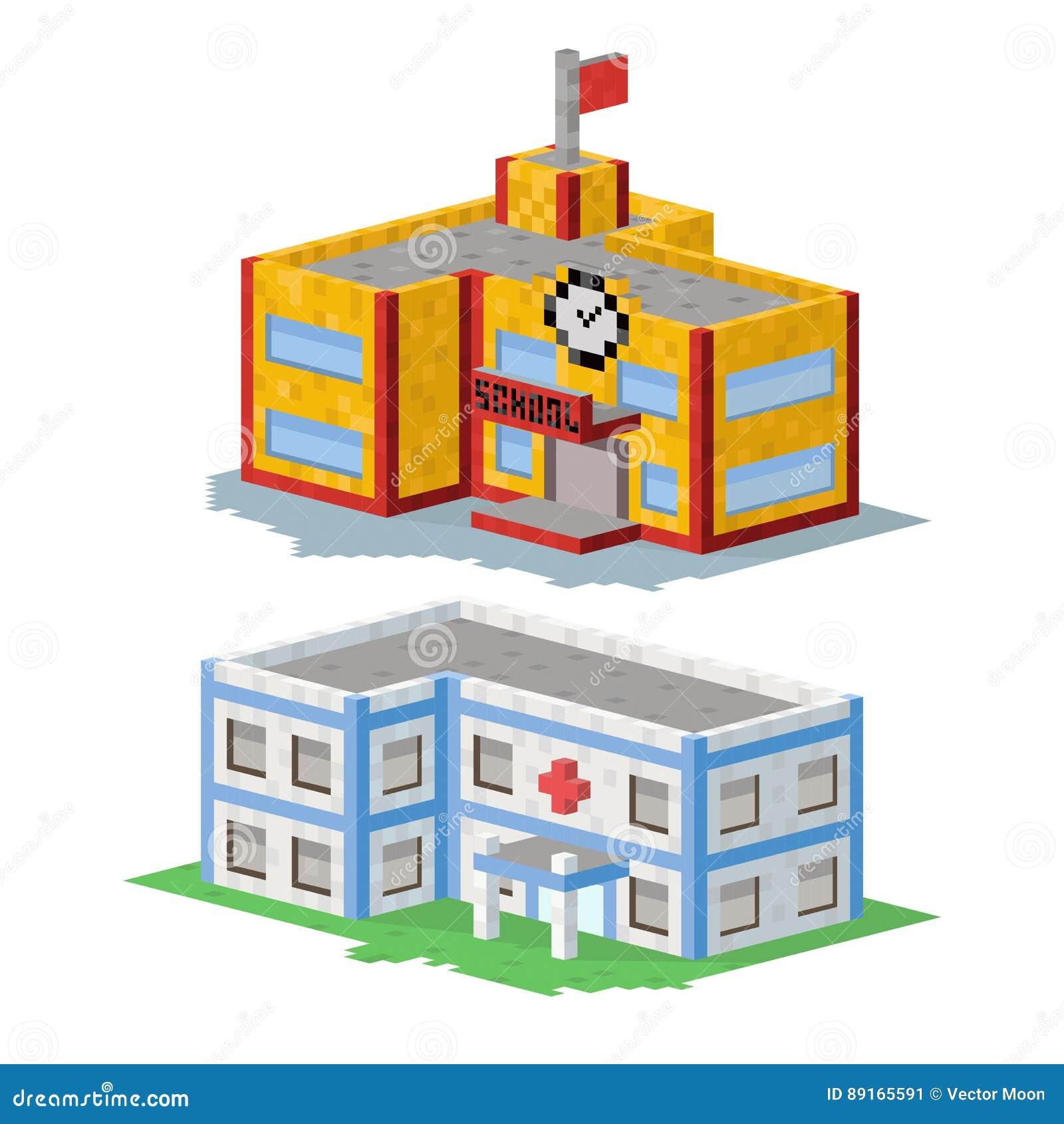 Le Cottage Plat Coloré Mignon Et La Maison Dimmobiliers D