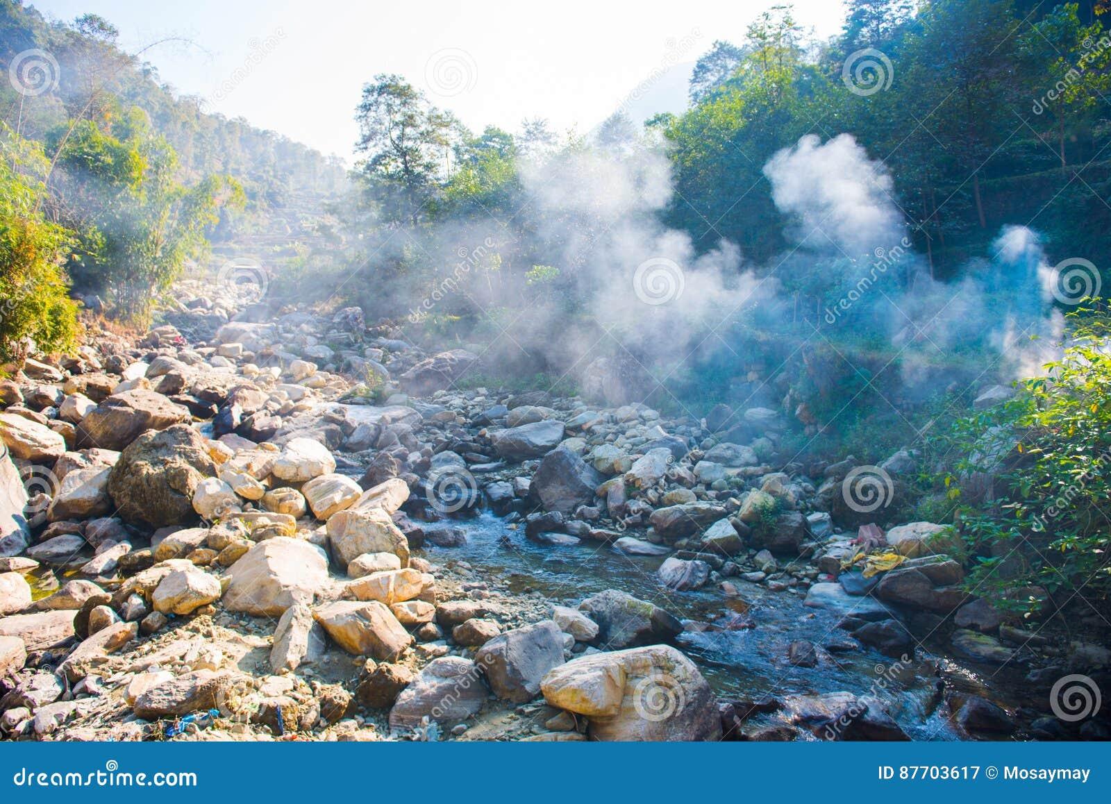 Le cours d eau de la rivière de la montagne