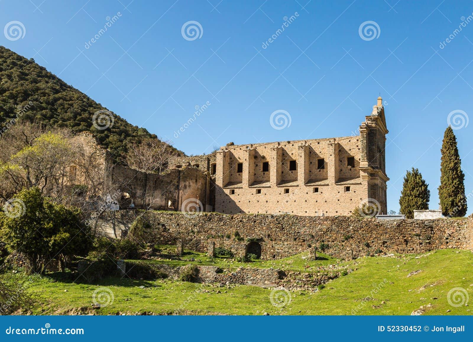 Le couvent de San Francescu près de Castifao en Corse