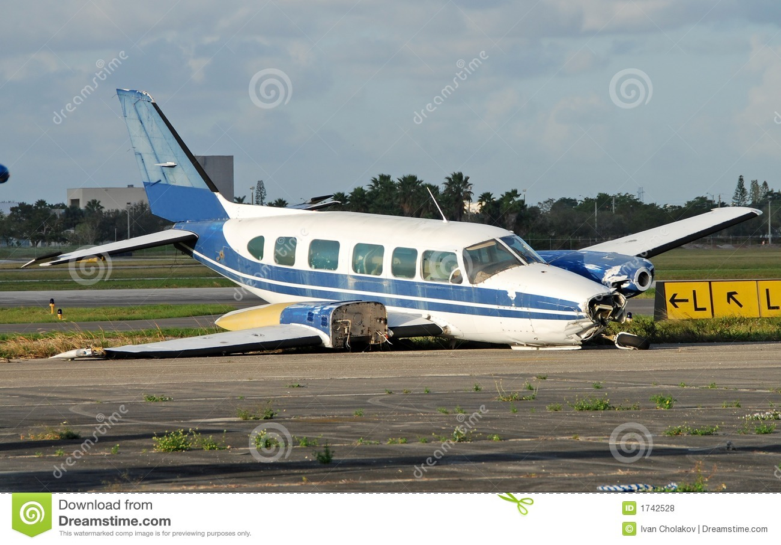 Le crash a atterri l avion