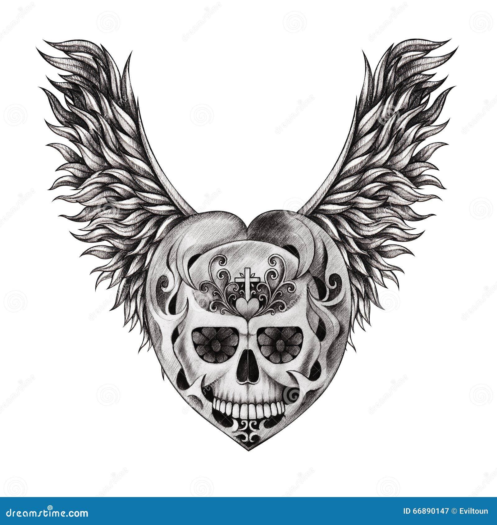tatouage t te de mort mr mme