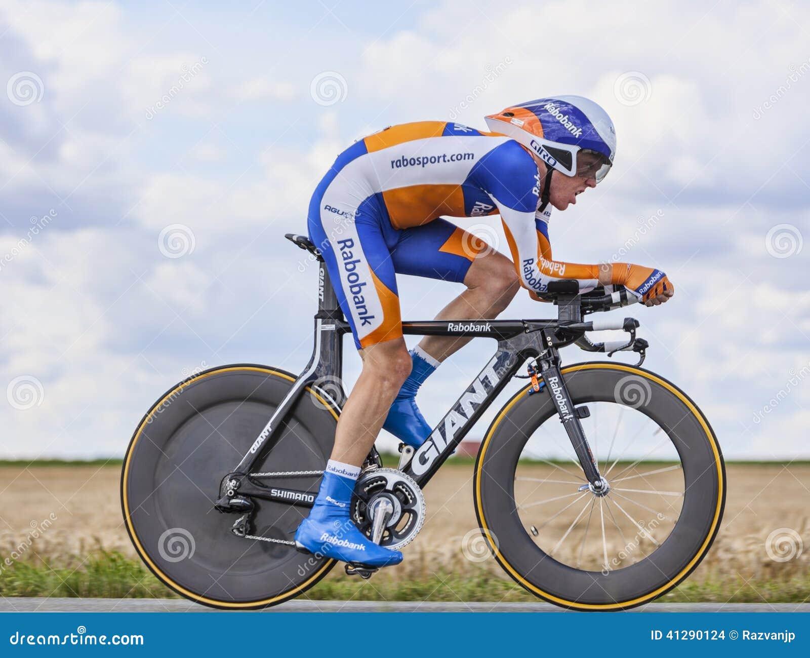 Le cycliste Steven Kruijswijk