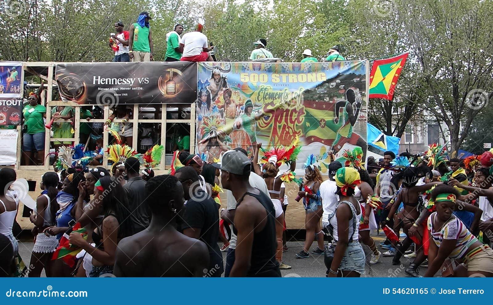 Le défilé indien occidental 1 du jour 2014