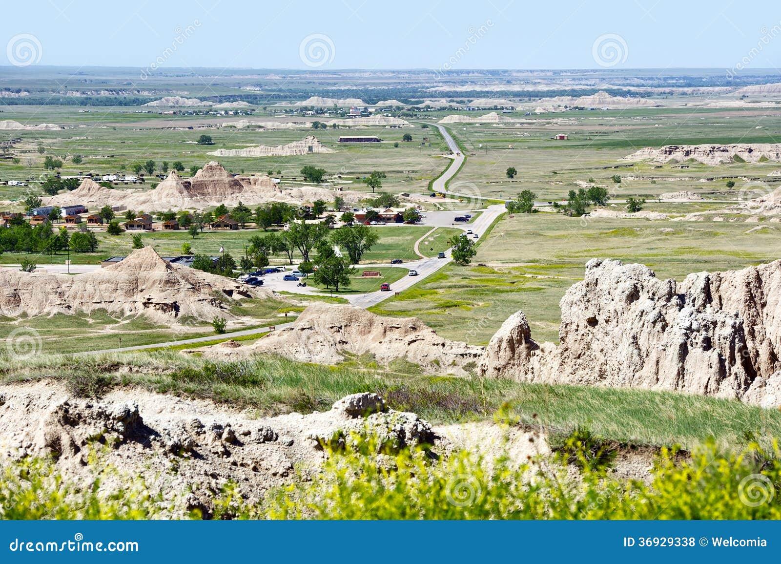 Le Dakota Du Sud Intérieur Etats-Unis Photo stock - Image du ...