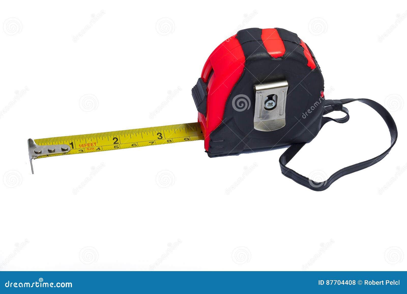 Le dispositif a destiné la bande de mesure de mesure de longueur