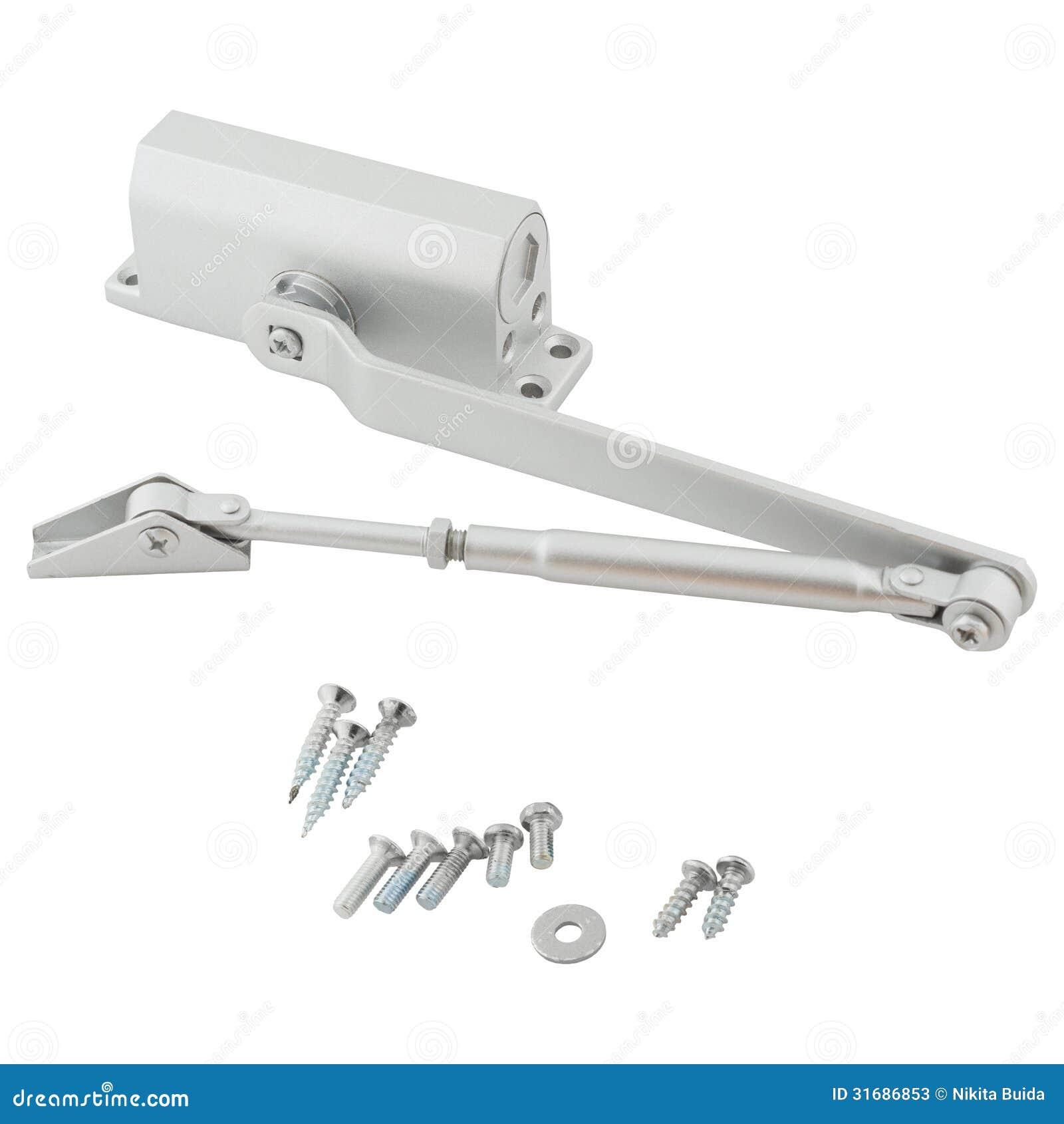 Le dispositif pour la fermeture automatique une porte image stock image 31686853 - Ouverture porte garage automatique ...