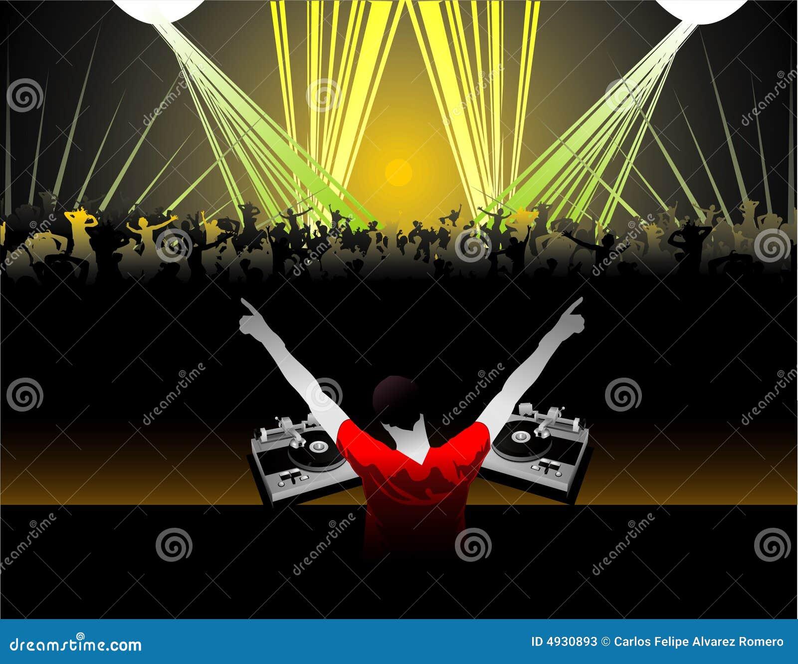 Le DJ dirigent la composition