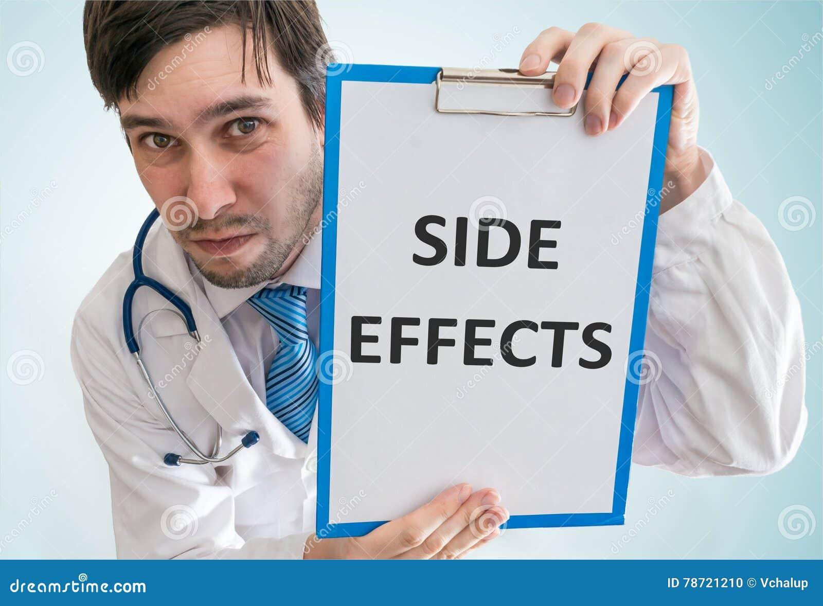 Le docteur met en garde contre des effets secondaires de médecine Vue à partir de dessus