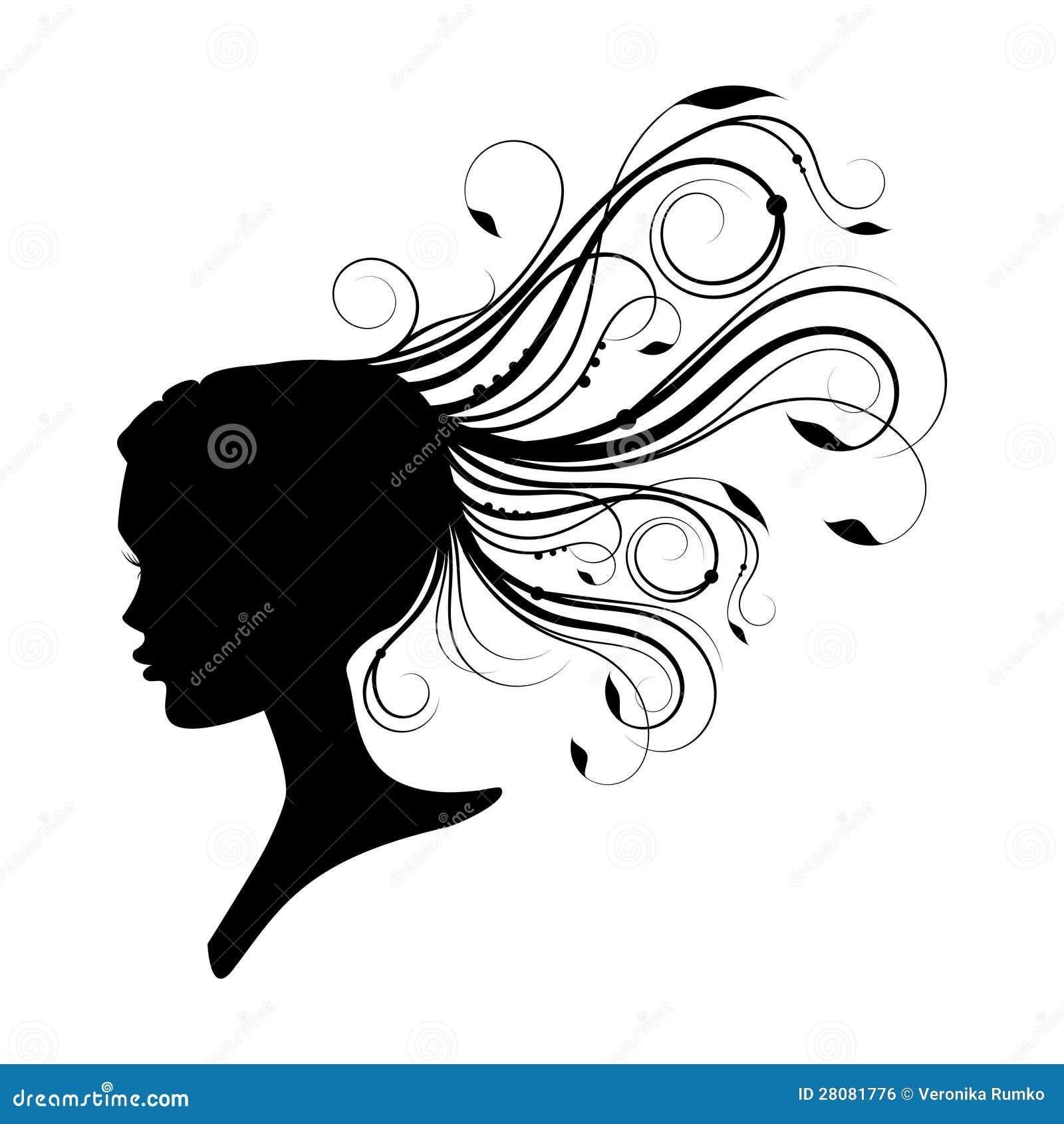 Disegni donne capelli ricci