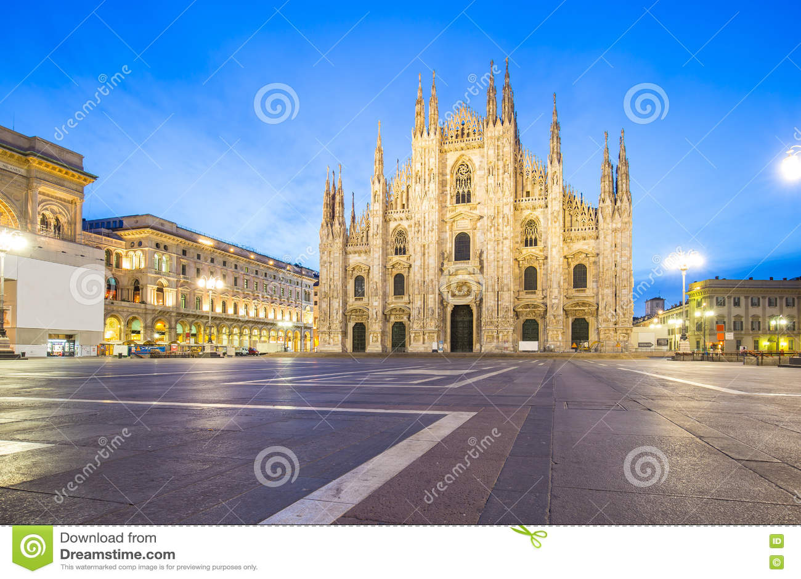 Le Duomo de Milan Cathedral à Milan, Italie