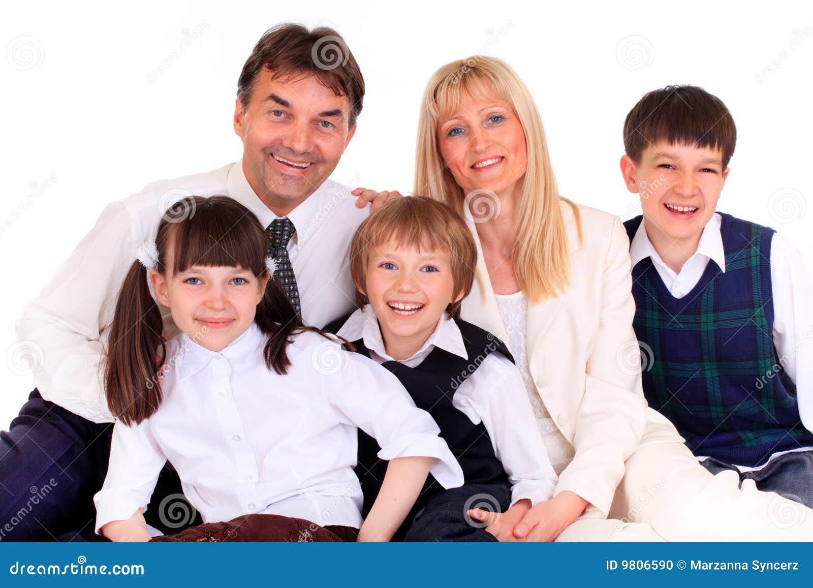 Le för familj