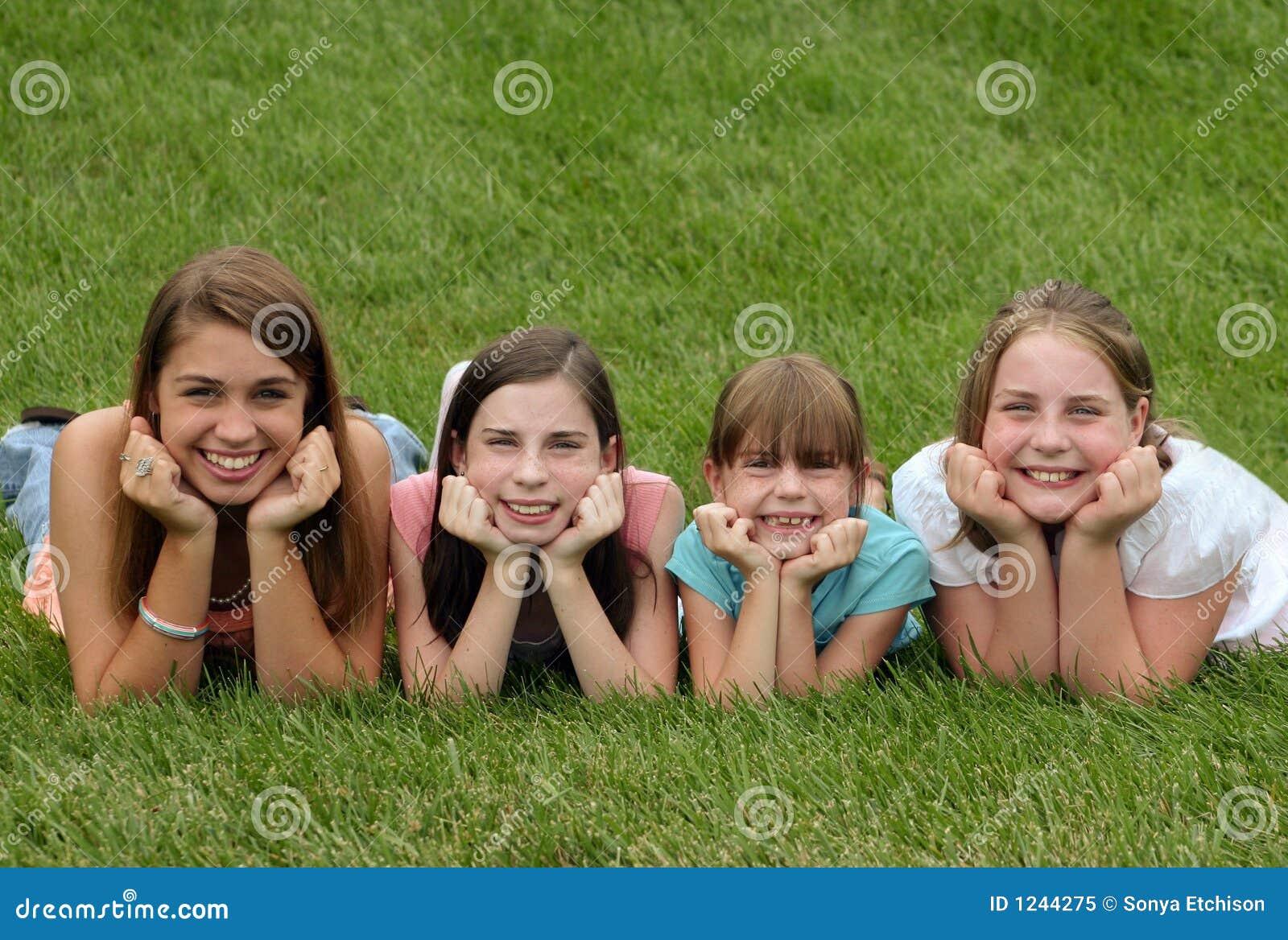 Le för flickor