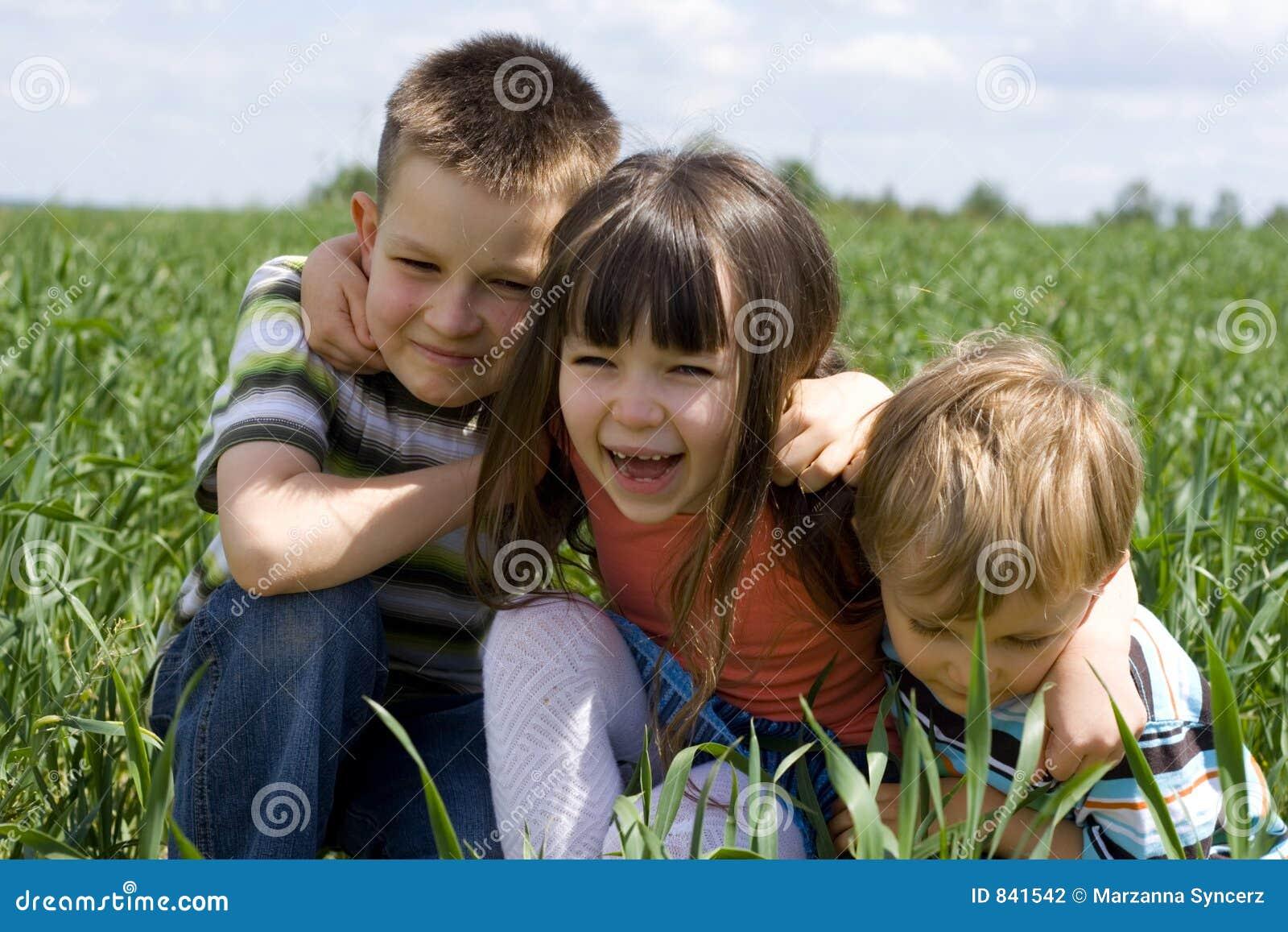 Le för ungar