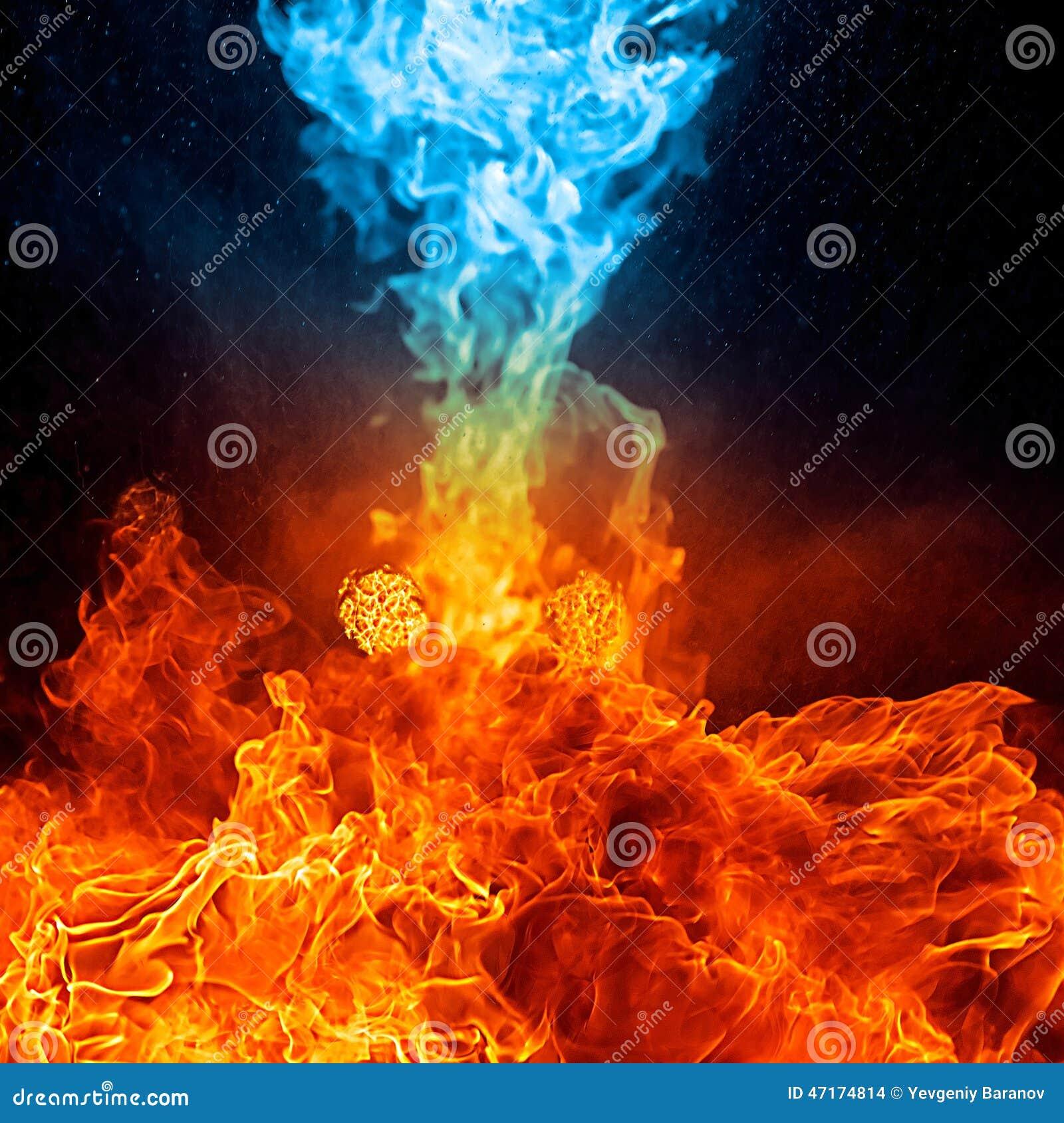 le feu rouge et bleu sur le fond arri re photo stock image 47174814. Black Bedroom Furniture Sets. Home Design Ideas