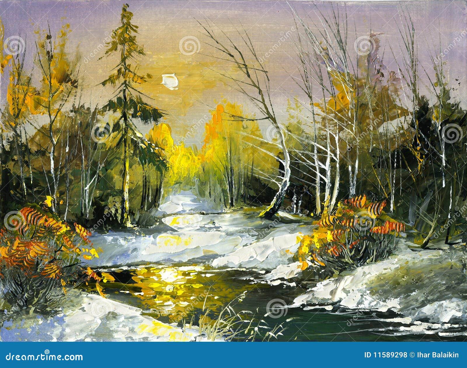 Le fleuve en bois