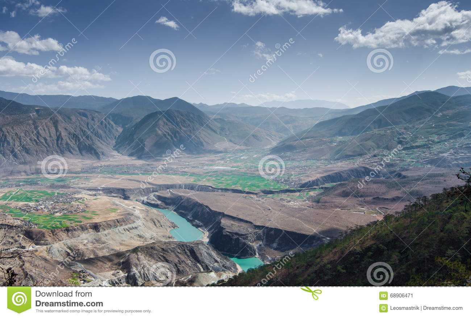 Le fleuve Yangtze