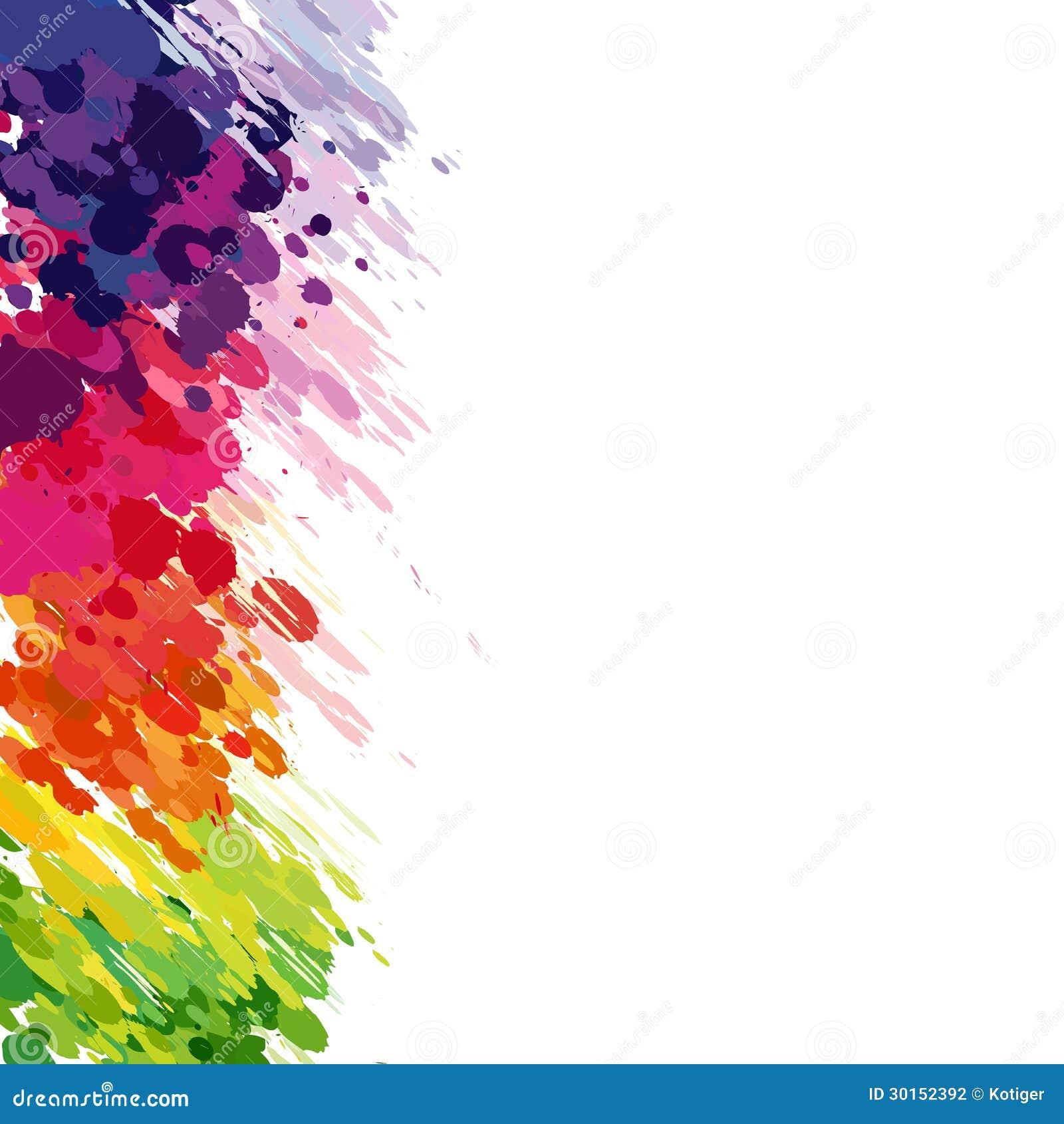 le fond abstrait de couleur clabousse illustration de vecteur illustration du fond modifi. Black Bedroom Furniture Sets. Home Design Ideas