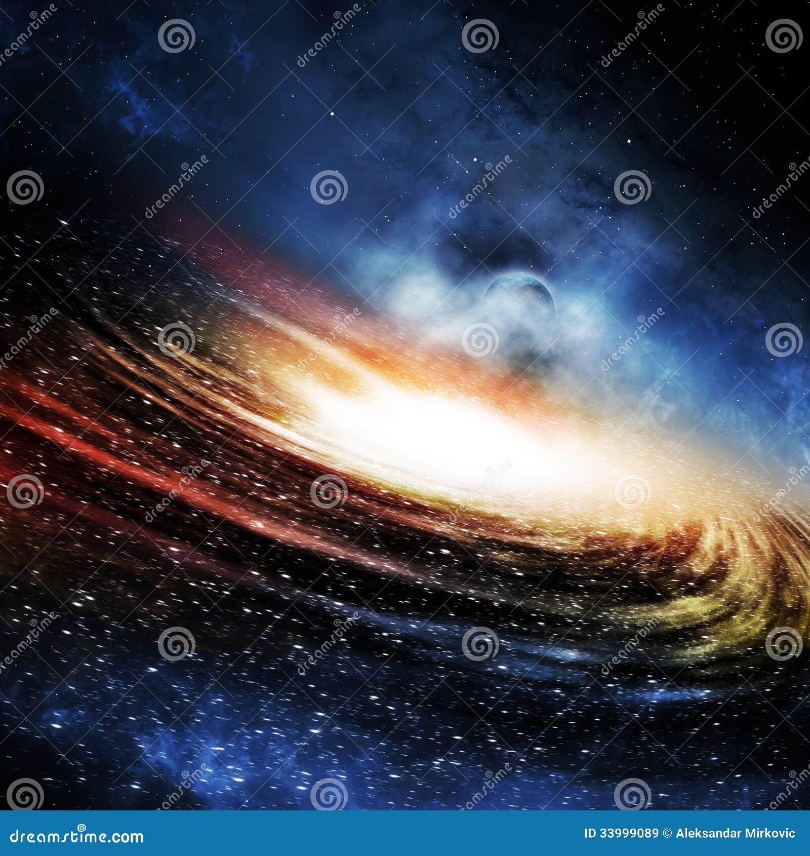 Le fond de galaxie