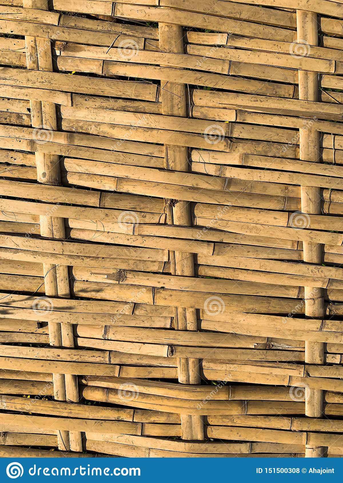 Le fond en bambou d armure