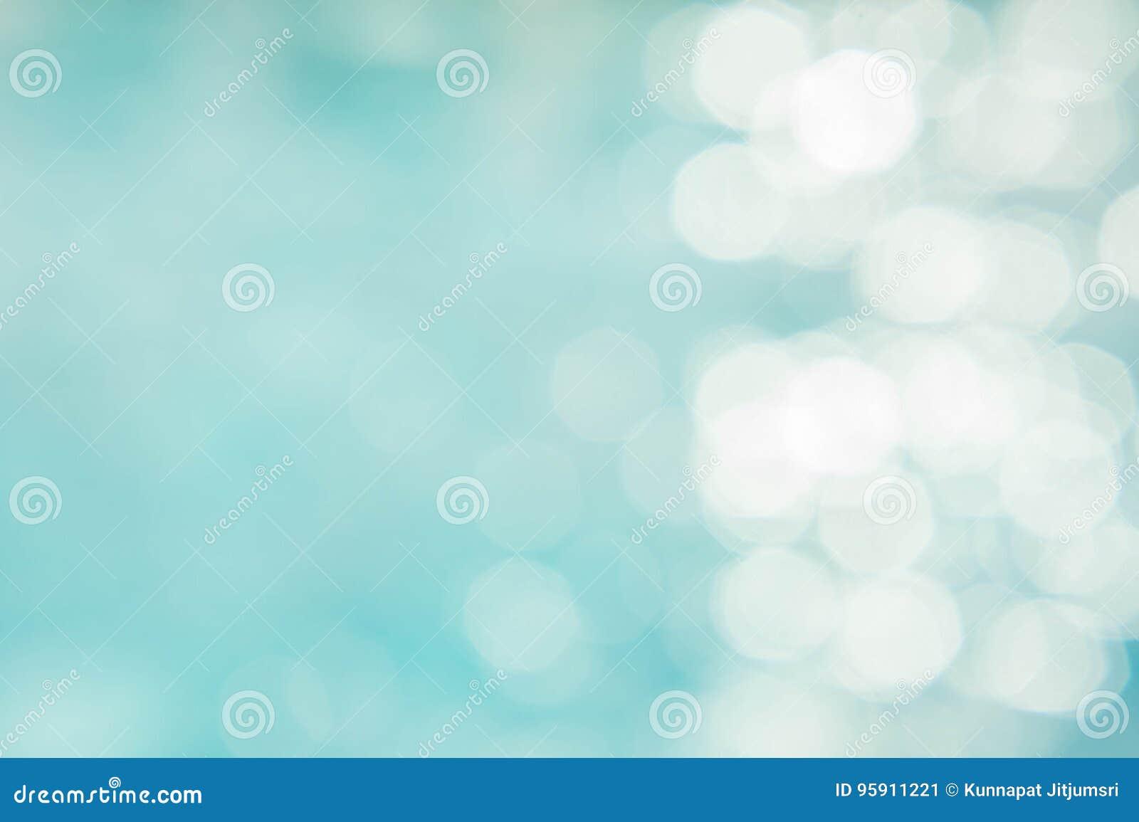 Le fond vert-bleu abstrait de tache floue, wallpaper la vague bleue avec s