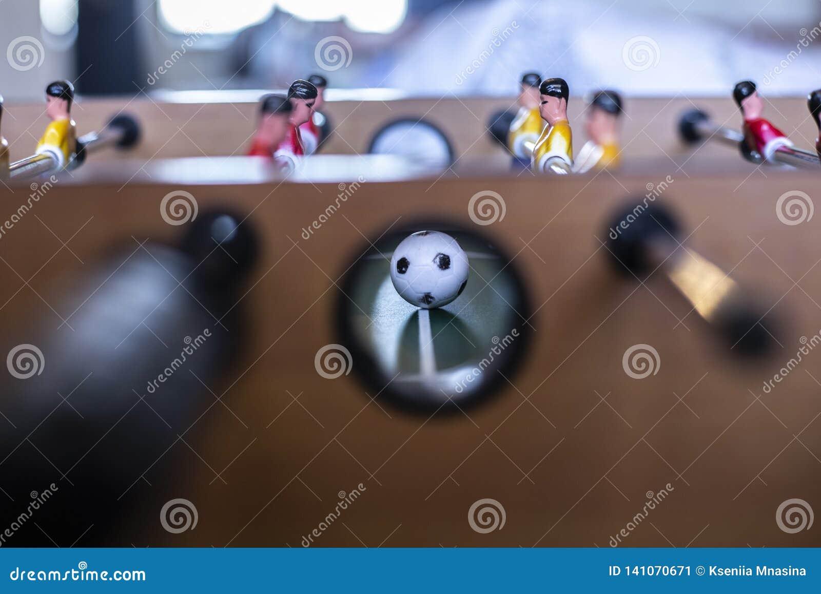 Le football, boule et joueurs de Tableau