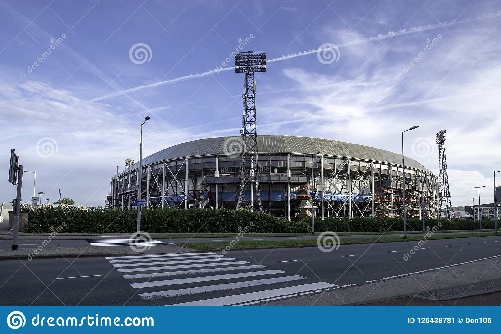 Le football Stadion Feyenoord Rotterdam