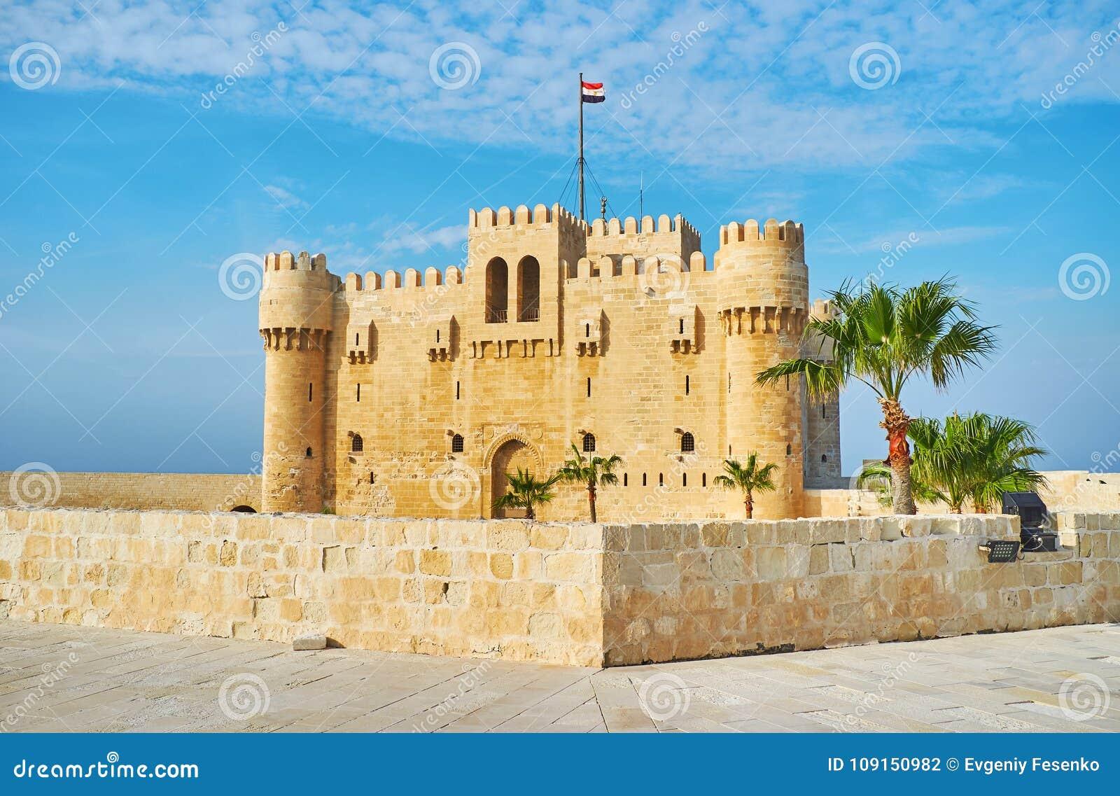 Le fort de l Alexandrie, Egypte
