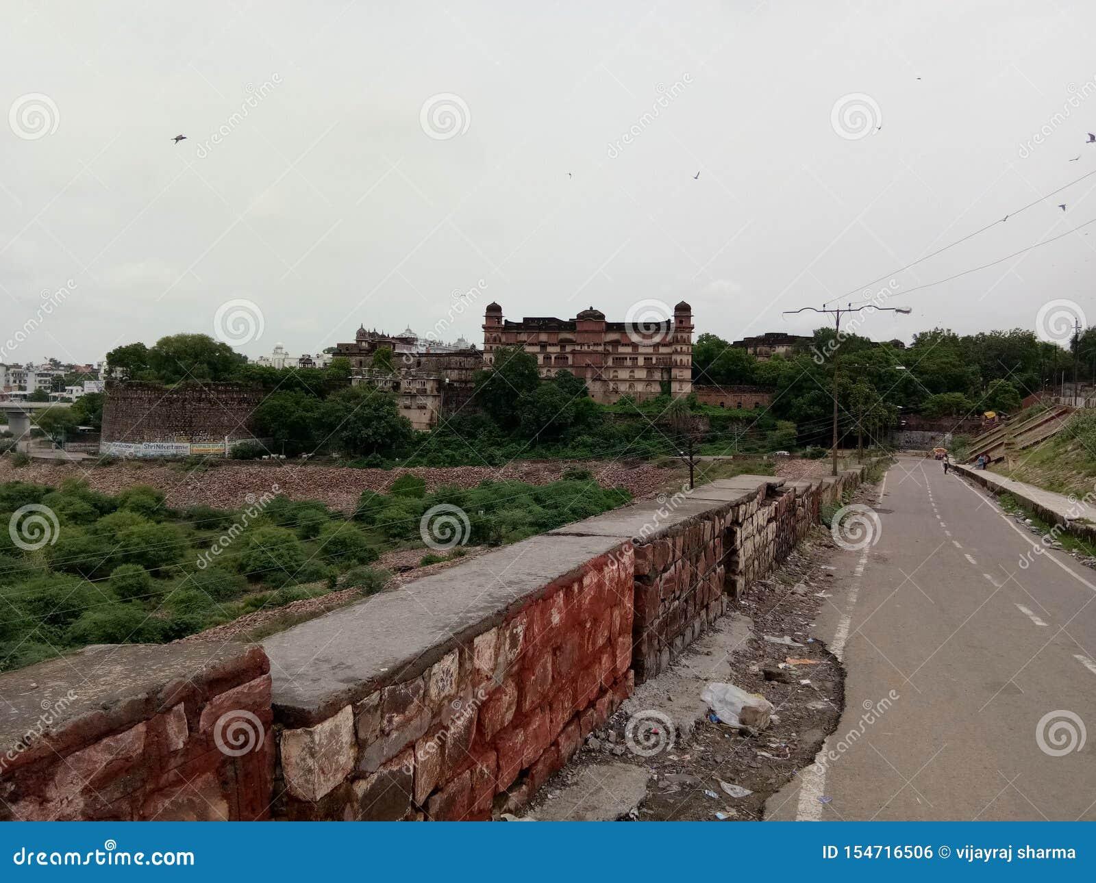 Le fort du kota en Inde