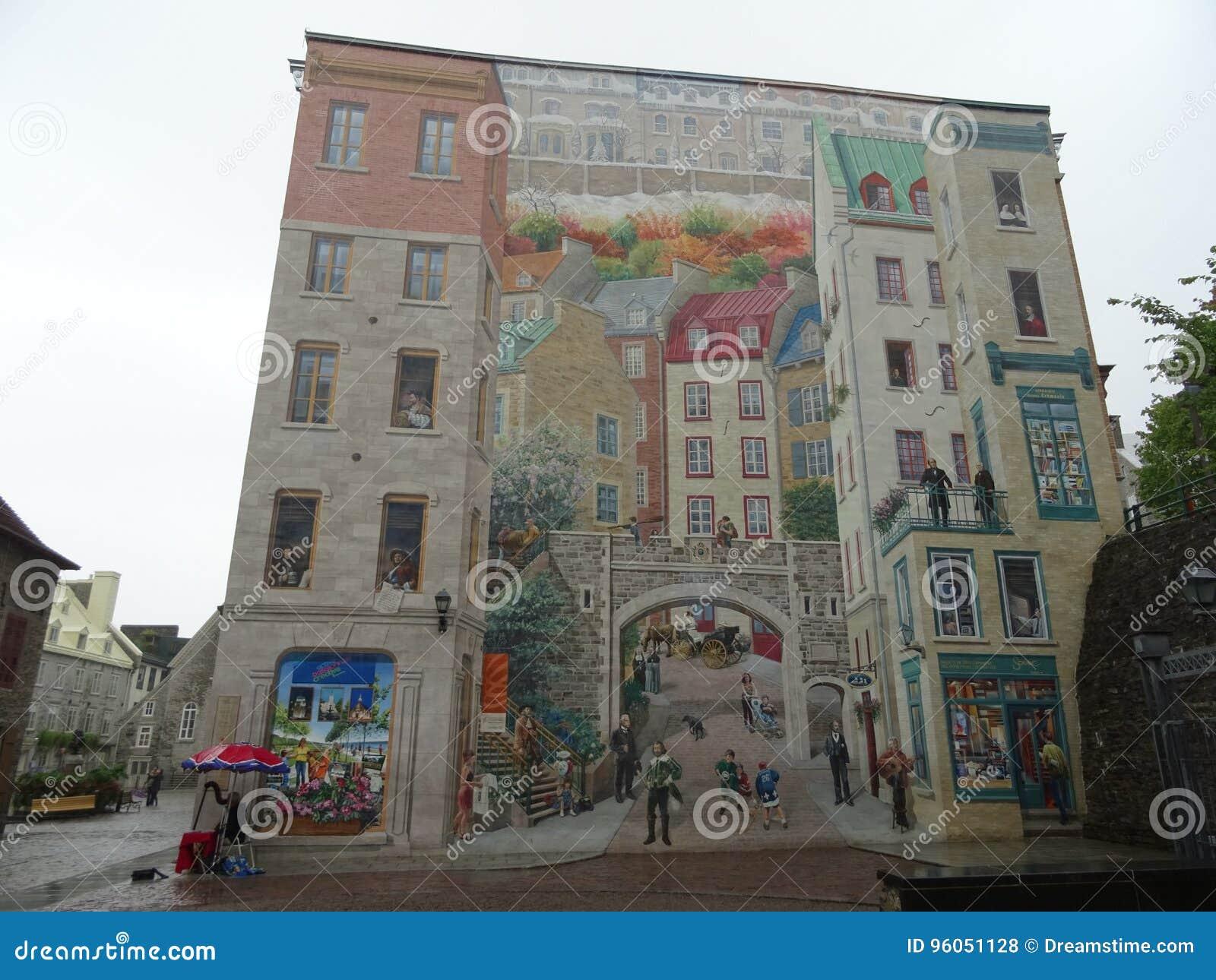 Le fresque du Quebecois à Québec