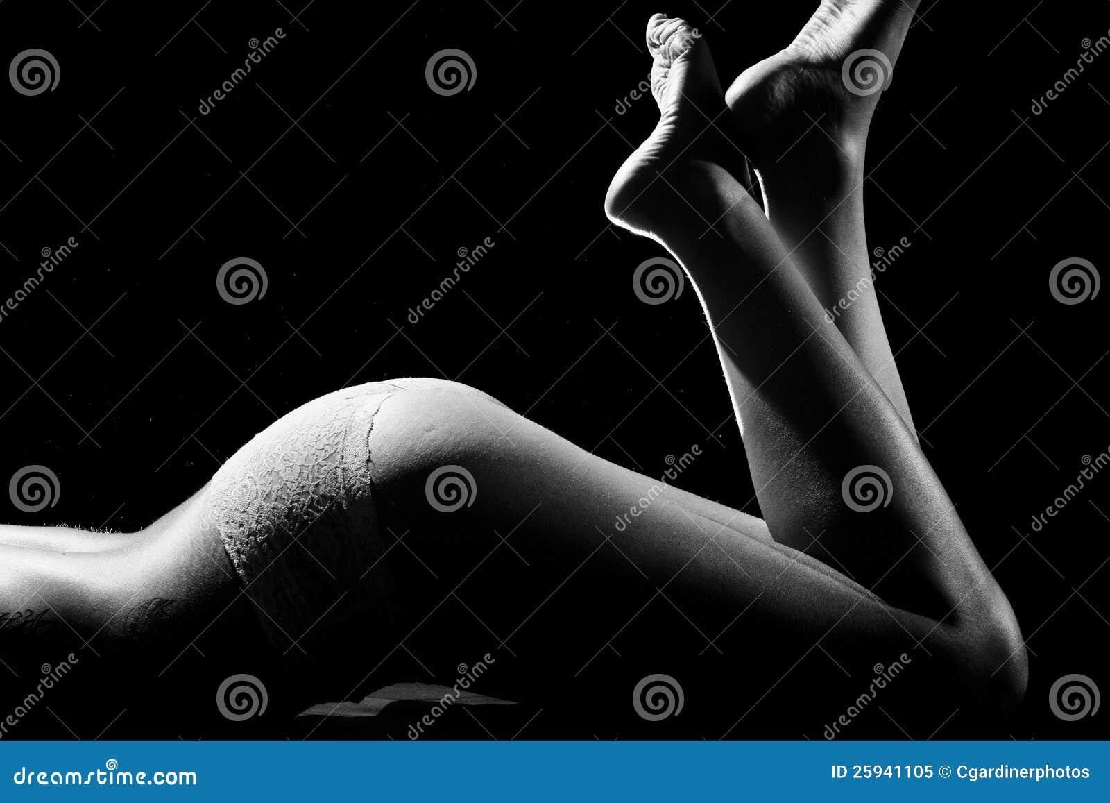 Le gambe della donna