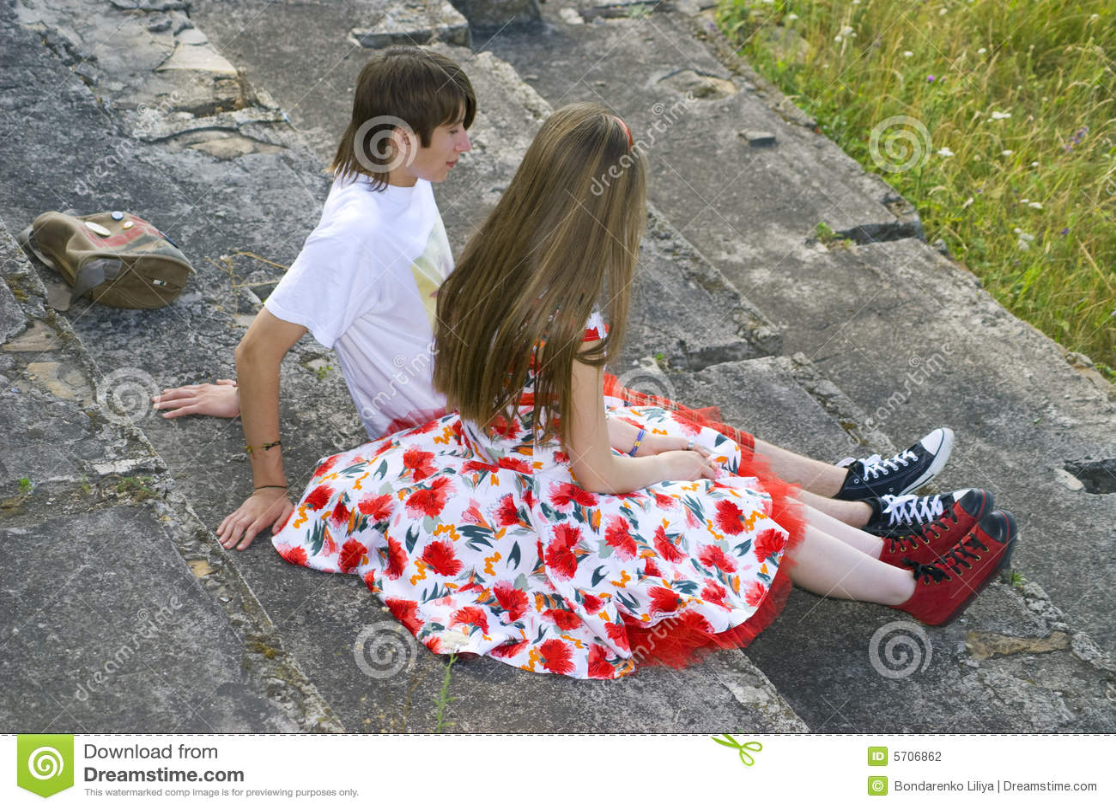 Le garçon et la fille