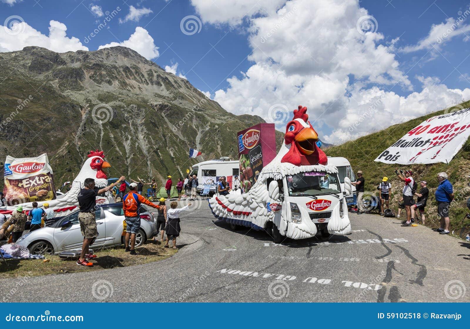 Le Gaulois Caravan -环法自行车赛2015年