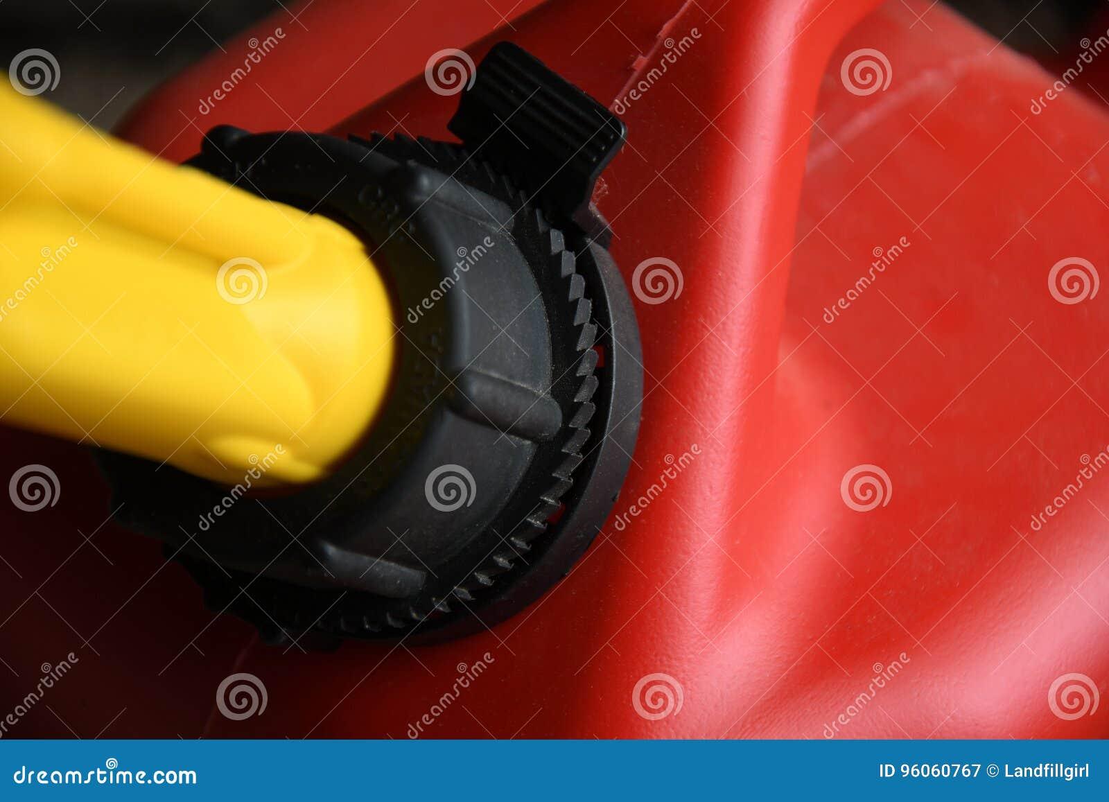 Le gaz rouge peut se fermer