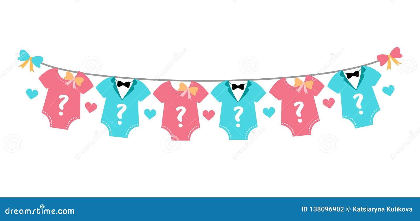Le genre indiquent la partie, la fête de naissance, le garçon ou la fille