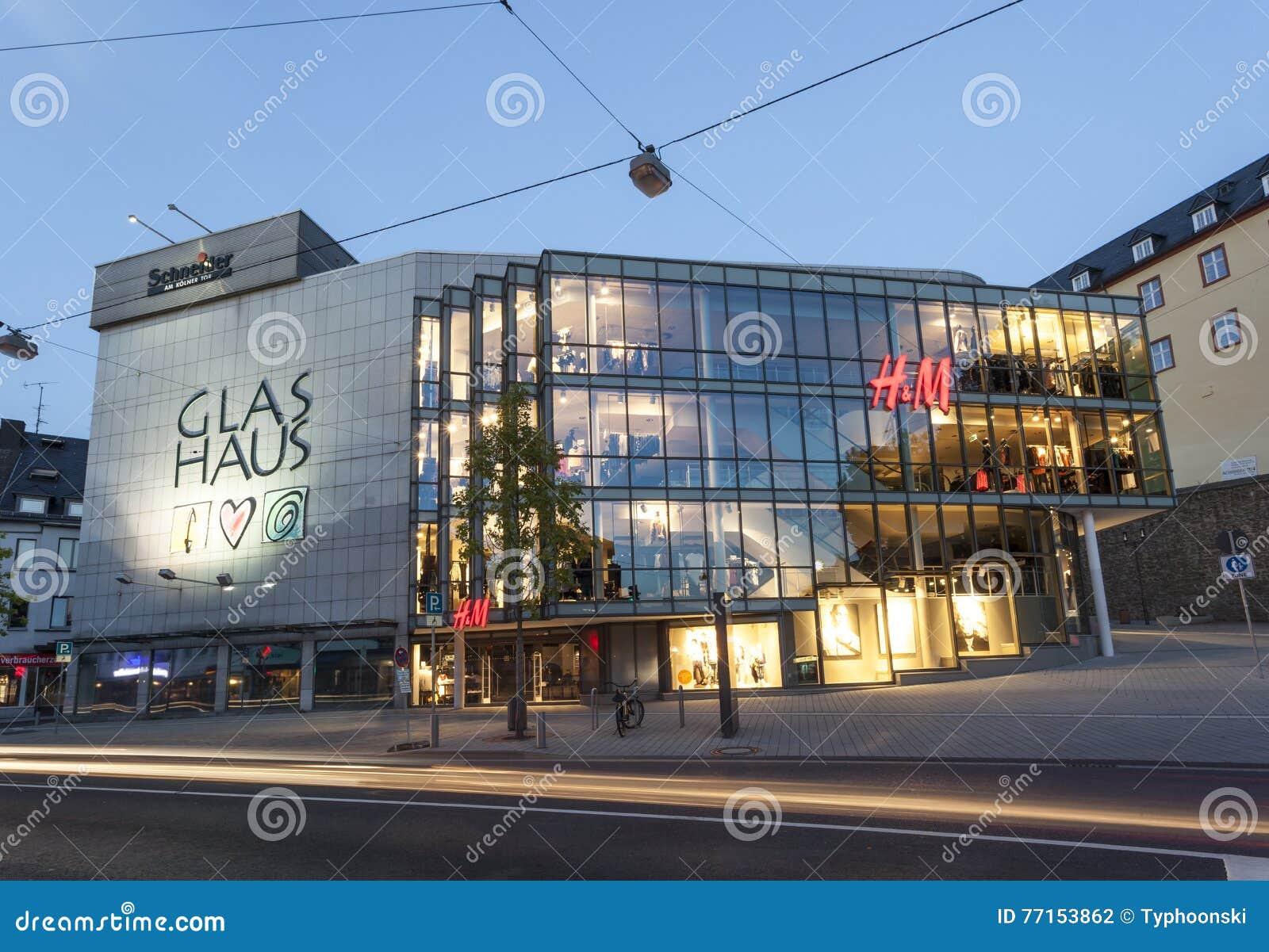 Le Glas Haus dans Siegen, Allemagne