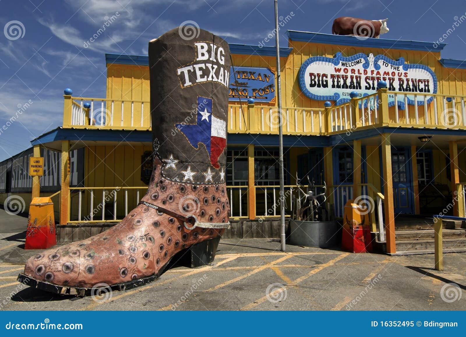 Le Grand Ranch Texan De Bifteck Image Ditorial Image
