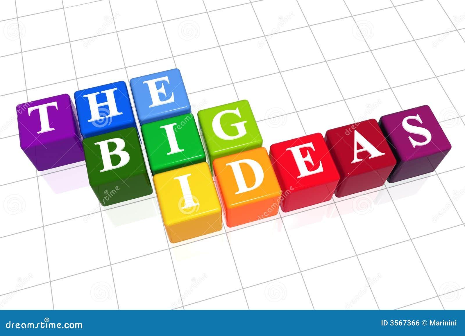 Le grandi idee a colori