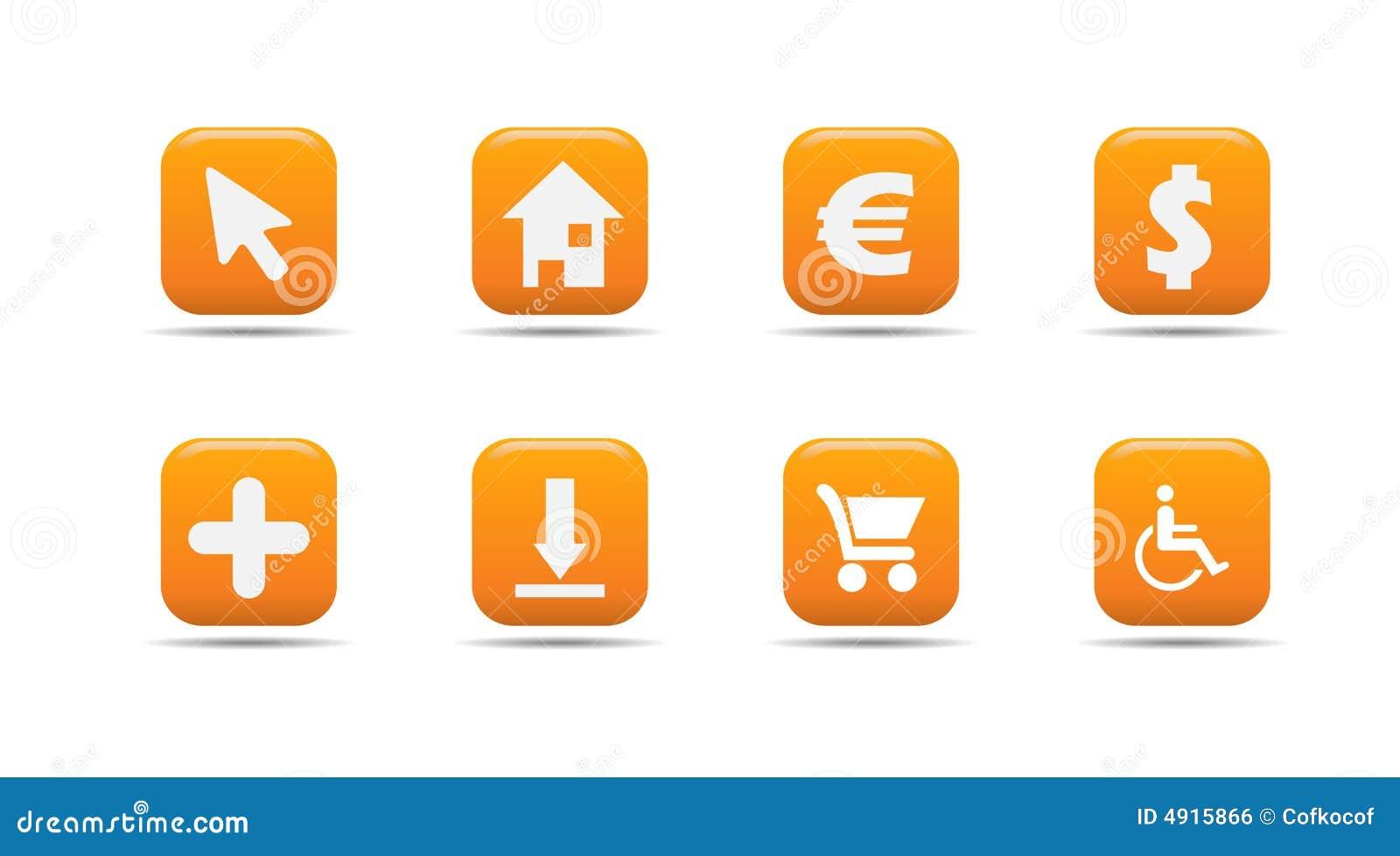 Le graphisme de Web a placé 4| Série d abricot