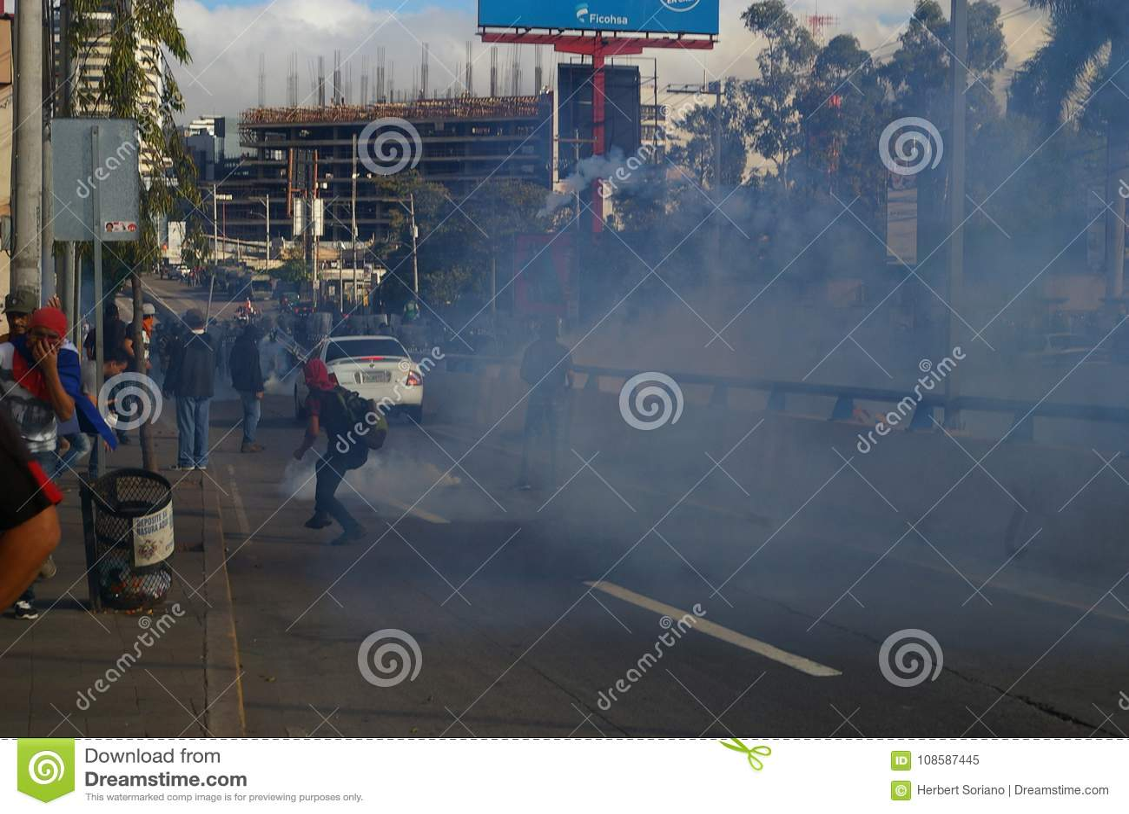 Le Honduras protestation march en janvier 2018 Tegucigalpa, Honduras 1