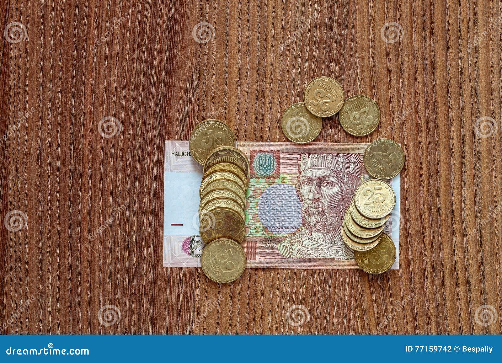 Le hryvnia ukrainien de devise